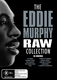 Eddie Murphy Raw Collection, The (10 Disc Box Set) on DVD image