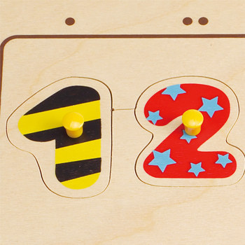 Hape: Numbers Matching Puzzle image
