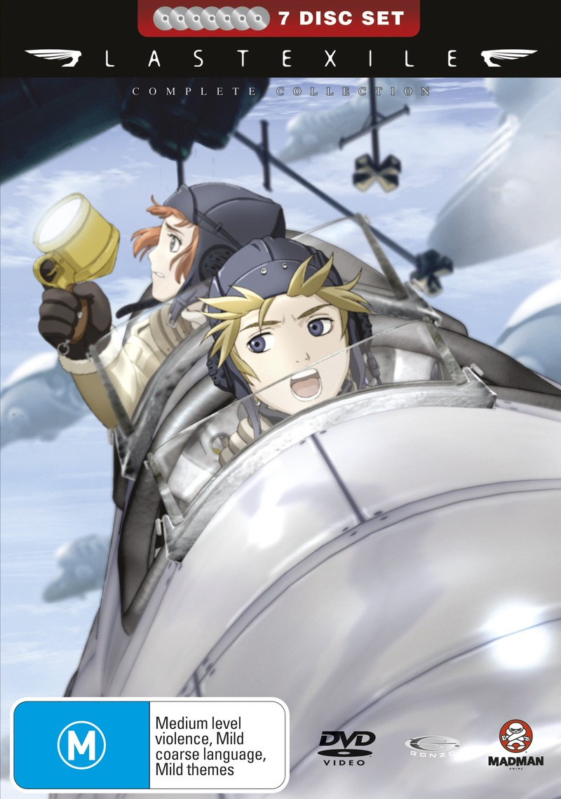 Last Exile Complete Collection (7 Disc Fatpack) on DVD image