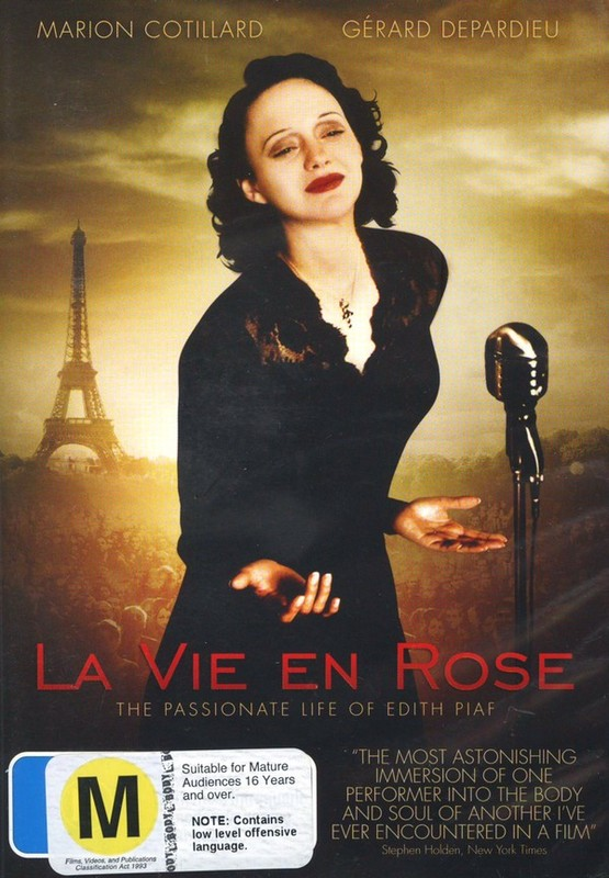 La Vie En Rose on DVD