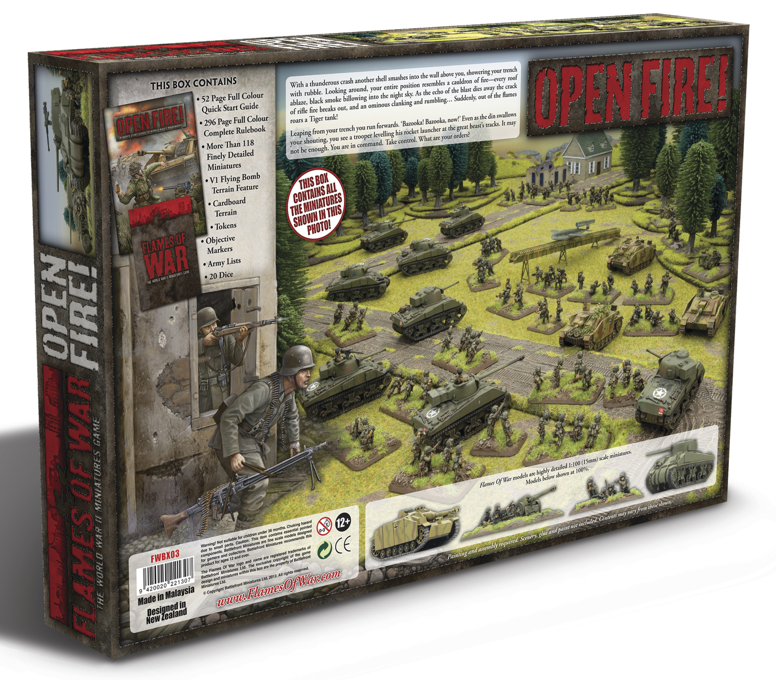 Flames Of War Open Fire Starter Set At Mighty Ape