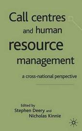 Call Centres and Human Resource Management image