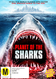 Planet of the Sharks DVD