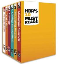 HBR's 10 Must Reads Boxed Set (6 Books) by Harvard Business Review