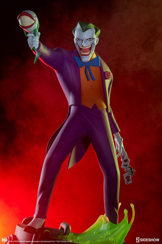 "DC Comics: The Joker (Animated) - 17"" Premium Statue"