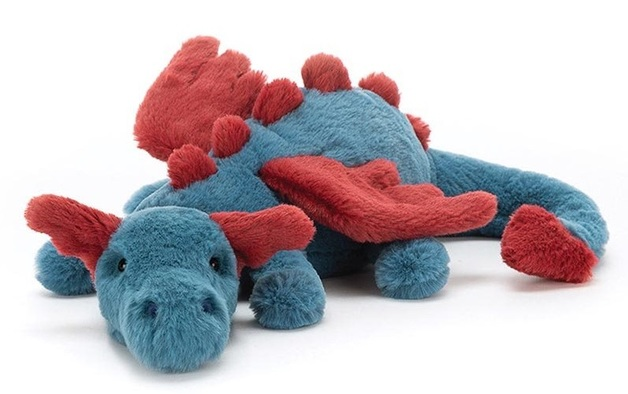 Jellycat: Dexter Dragon - Medium Plush