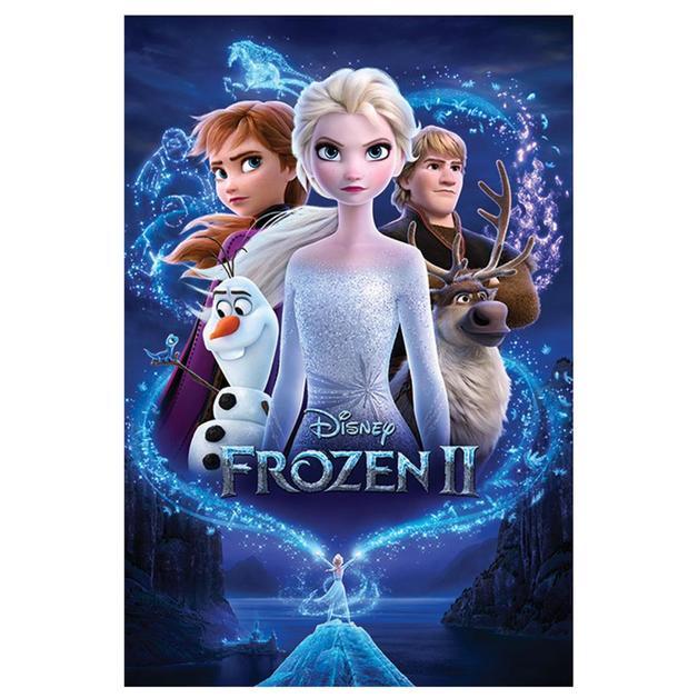 Frozen II on DVD