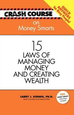 Crash Course: Money Smarts by Mark Gilroy image