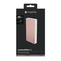 Mophie Powerstation XL 10000mAh Power Bank (Rose Gold)