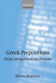 Greek Prepositions by Pietro Bortone image