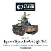 Japanese Type 95 Ha-Go light tank image
