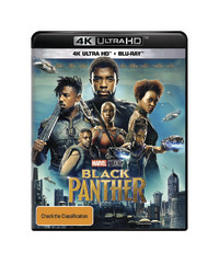 Black Panther (4K UHD + Blu-ray) on UHD Blu-ray