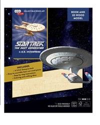 Incredibuilds: Star Trek Tng: U.S.S. Enterprise 3D Wood Model And Book