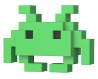 Space Invaders - MD Invader 8-Bit Pop! Vinyl Figure