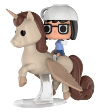 Bob's Burgers - Tina on Unicorn Pop! Ride Vinyl Figure