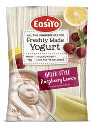 Easiyo Greek-Style Raspberry & Lemon (230g)