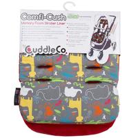 Cuddle Co: Comfi-Cush Memory Foam Stroller Liner - Jungle