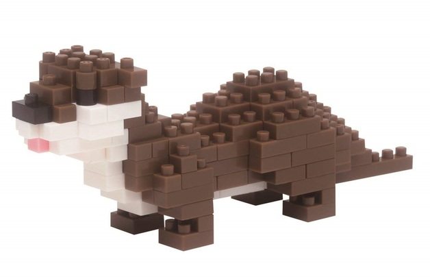 nanoblock: Critter Series - Small-Clawed Otter