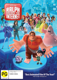Ralph Breaks The Internet on DVD image