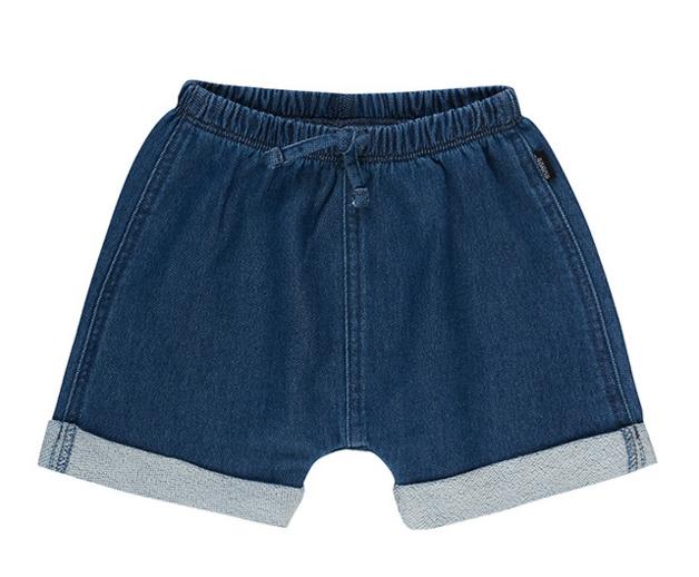 Bonds: Denim Terry Short - Blue Chambray (Size 1)
