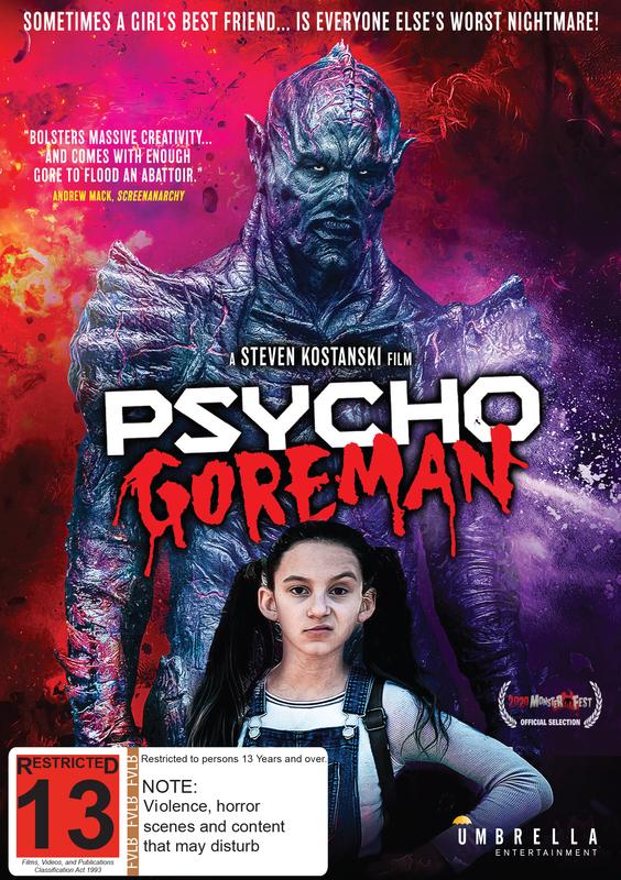 Psycho Goreman on DVD