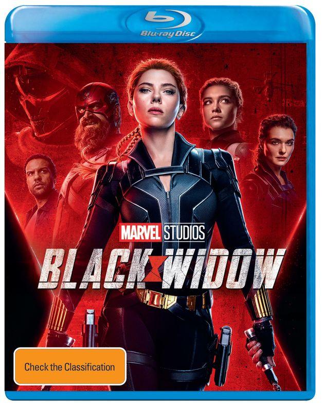 Black Widow on Blu-ray