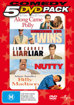 Comedy 5 DVD Pack (Along Came Polly / Twins / Liar Liar / Nutty Professor / Billy Madison) (5 Disc Set) on DVD