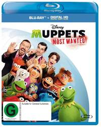 Muppets Most Wanted on Blu-ray