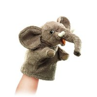 Folkmanis Hand Puppet - Little Elephant