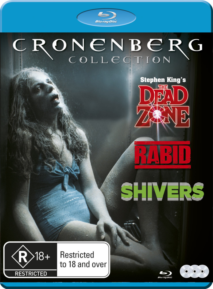 David Cronenberg Collection - Rabid/Shivers/Dead Zone on Blu-ray image