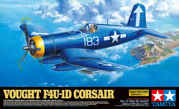 Tamiya: 1/32 Vought F4U-1D Corsair Model Kit