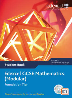 Edexcel GCSE Maths: Modular Foundation Student Book and Active Book by Julie Bolter image