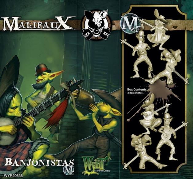 Malifaux: Gremlins - Banjonistas (3pc)