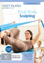 Stott Pilates - Total Body Sculpting (Flex-Band Series) on DVD