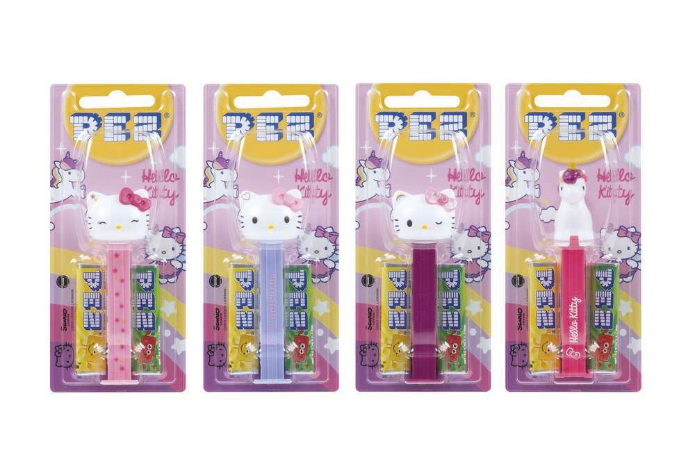 Hello Kitty with Unicorn /& Candies Hello Kitty Pez Two Pack