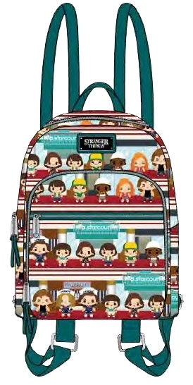 Stranger Things - Upside Down Chibi Mini Backpack | at