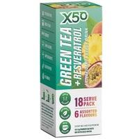 Green Tea X50 - 18 sachets (Assorted Flavours)
