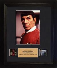 FilmCells: Portrait-Cell Frame - Star Trek (Spock - Final Frontier)