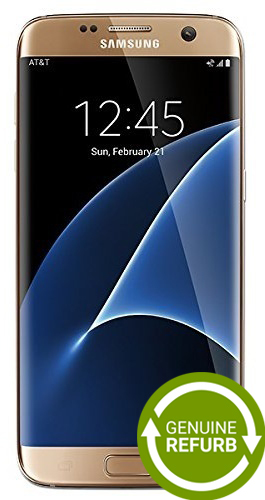 Samsung Galaxy S7 Edge 32GB - Gold [Refurbished]