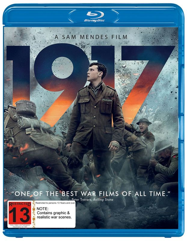 1917 on Blu-ray