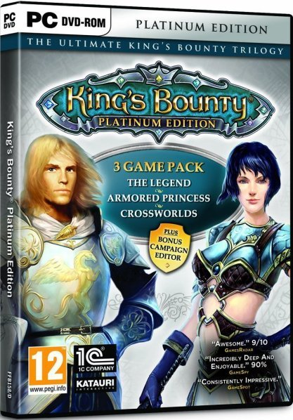 Kings Bounty - Platinum Edition (includes all 3 games!) for PC Games
