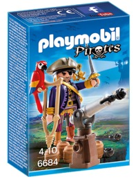 Playmobil: Pirates Captain (6684)