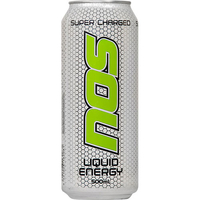 NOS Energy Drink Supercharged 500ml (12 Pack)