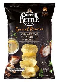 Copper Kettle Chips: Special Reserve - Champagne Vinaigrette & Shallot (150g)