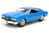 Jada: 1/24 1970 Chevy Chevelle SS (Hard Top Wa-1) - Diecast Model (Blue)