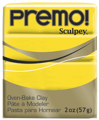 Sculpey Premo Cadmium Yellow Hue (57g)