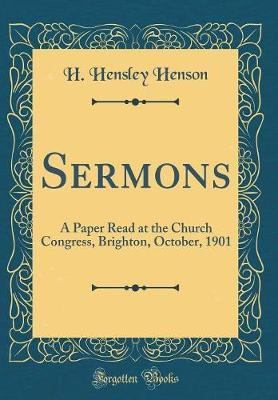 Sermons by H. Hensley Henson