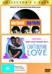 High Fidelity / Can't Buy Me Love - Double Pack (2 Disc Set) on DVD