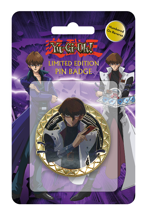 Yu-Gi-Oh! - Limited Edition Pin Badge (Seto Kaiba)