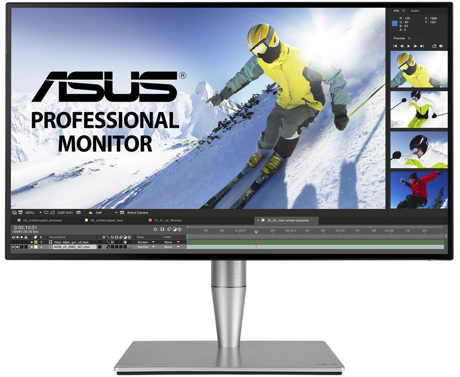 """27"""" ASUS ProArt 1440p 60Hz 5ms HDR Professional Monitor image"""